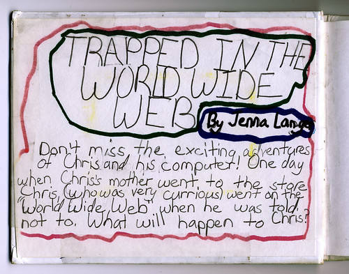Trapped in the WWW: Inside Cover