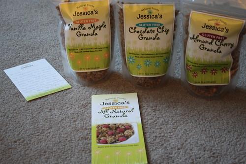 Jessica's gluten free granola