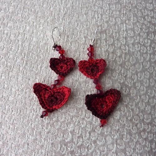 Lobes of Love - Valentine Heart Earrings