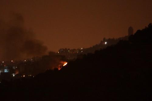 Fire near Al Zaim