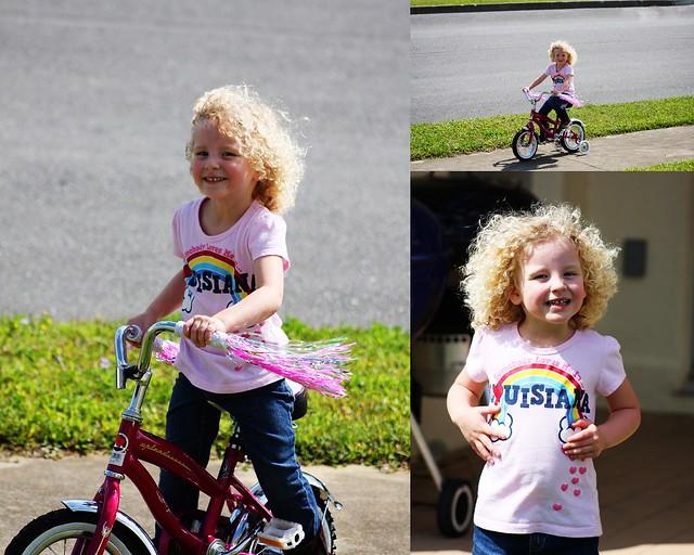 Meg's New Bike Collage