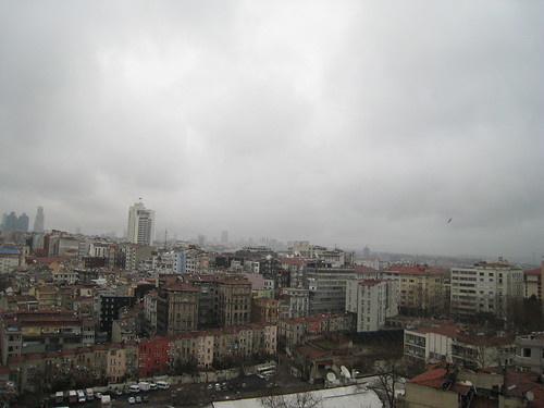 Istanbul from my hotel