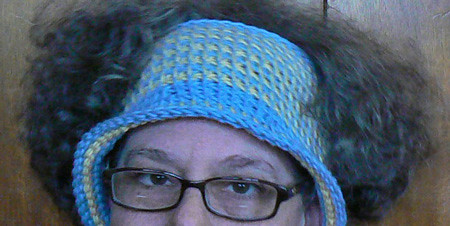 Parrot Tail stitch hat