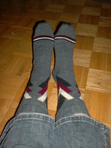 Torontonian Socks Done