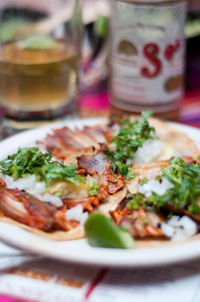 Tacos al Pastor in Mexico City