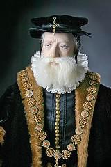 Sir William Cecil Lord Burghley, ca. 1587, Tud...