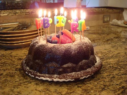 birthday bundt!