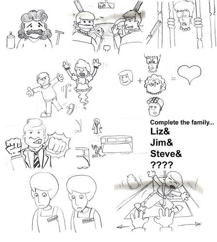 Corrie Doodles...