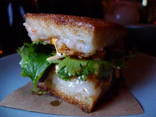 Shrimp Toast Sandwich at Son of a Gun