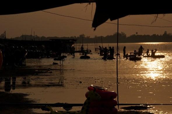 Nong Khai beach