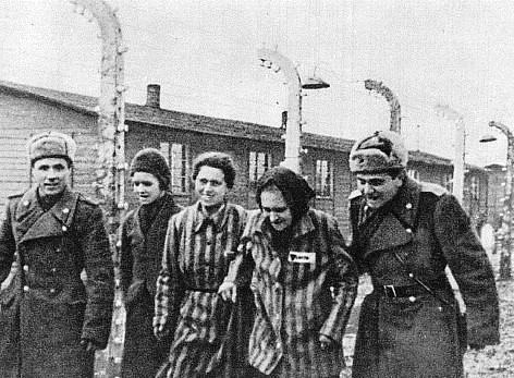 Auschwitz, 1945