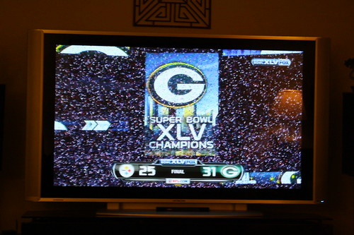 Green Bay Packers super bowl champions