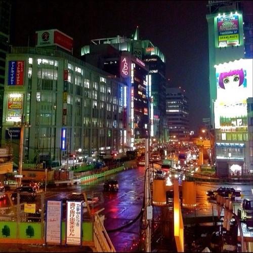 北側の歩道橋なくなっちゃったね! みなさん、今日もお疲れ様でした。☆。.:*:・'゜ヽ( ´ー`)ノ まったね~♪ #Osaka #Abeno #night