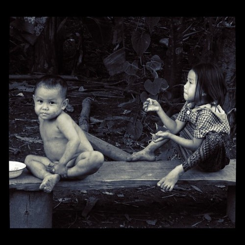 The children of Laos