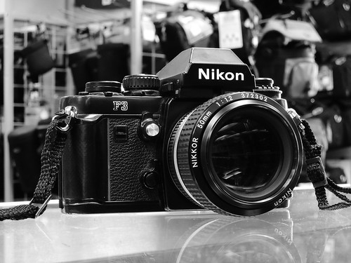 Nikon P300 High Contrast Monochrome black and white