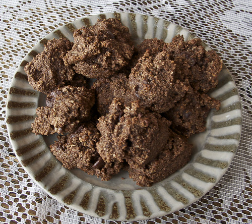 Chocolate-coconut-almond-cookies