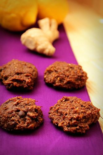 Ginger-lemon-cookies-chocolate