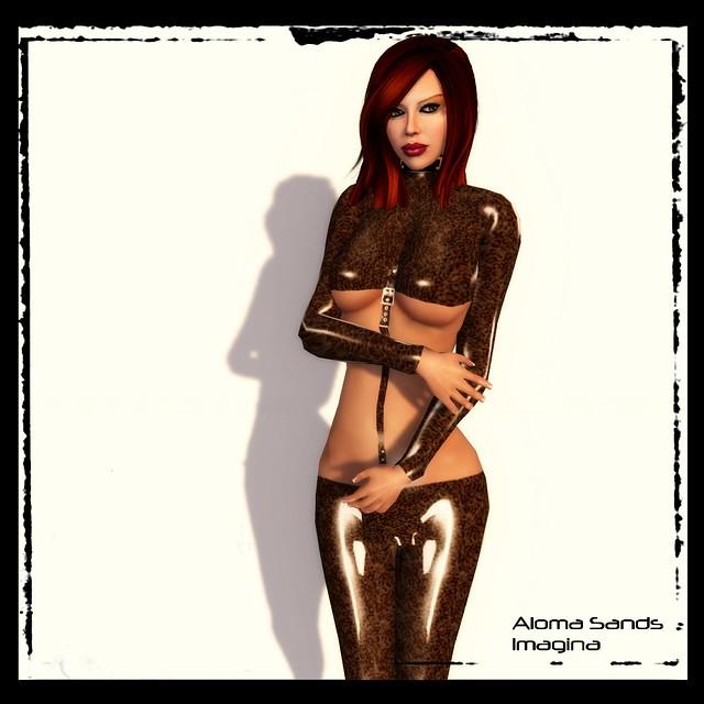 Adam n Eve Strapped Leopard 03