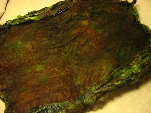 Leafy Chestnut - Silk Hankie