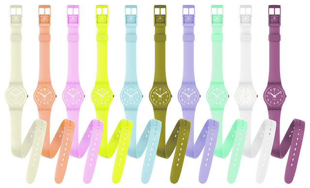Swatch Lady Collection.