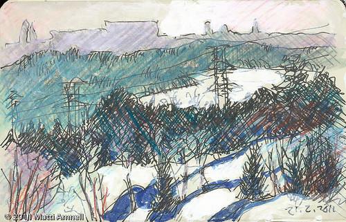 Winter Landscape, Helsinki