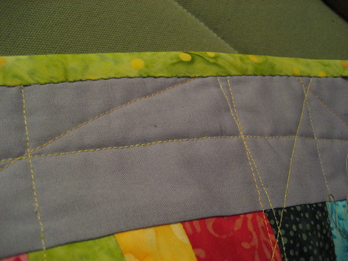 Binding close up - back