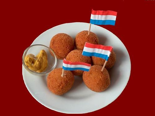 Bitterballen bij de Dutch club
