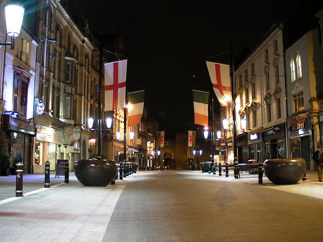 St David's Day flags already replaced
