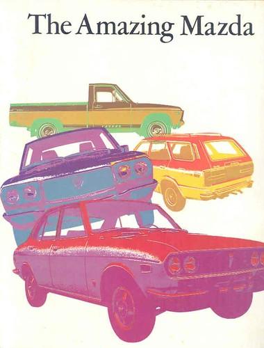 1973 Mazda Brochure page 1
