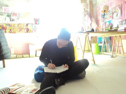 A estudar o proximo atelier / Studing for my next kids workshop