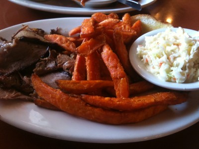 Brisket Plate at JL's BBQ (Macon GA)