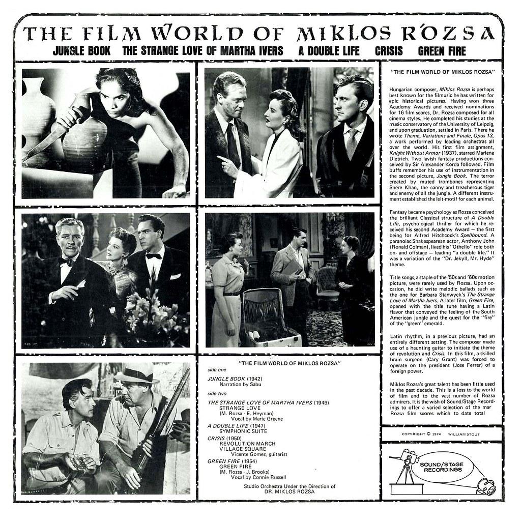 Miklós Rózsa - The Film World of Miklós Rózsa