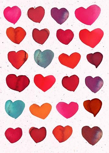 watercolor hearts_samantha hahn