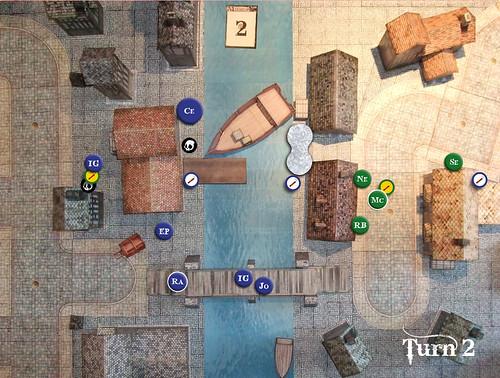 Malifaux Battle Report - Turn 2