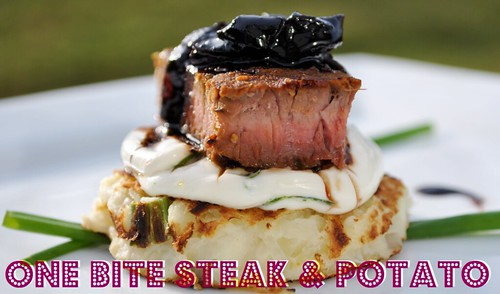 One Bite Steak and Potato  (1/3)