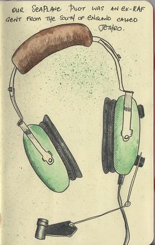 Seaplane headset