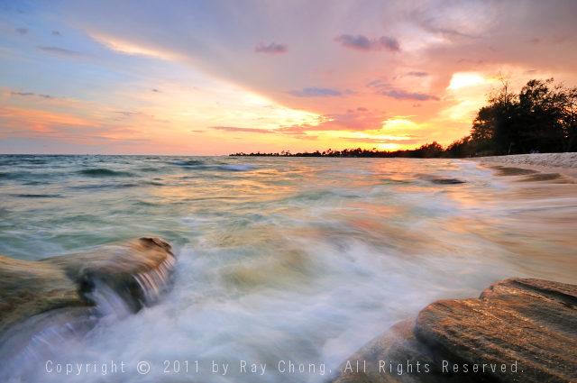 Sokha Beach Sunset