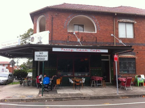 Petty Cash Cafe, Marrickville