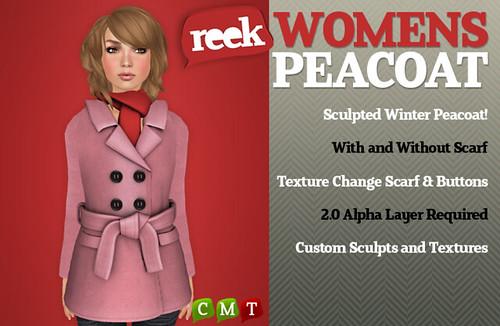 Reek - Womens Peacoats