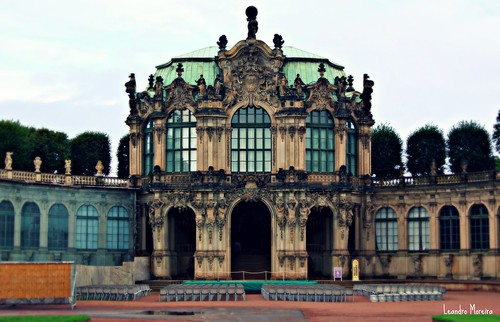 O Zwinger é a principal obra de arte barroca de Dresden