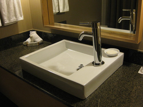 Sink at the Hyatt