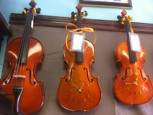 02.21.2011 Violin Clocks