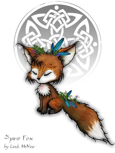 Celtic Spirit Fox (Spirit Fox version 2)
