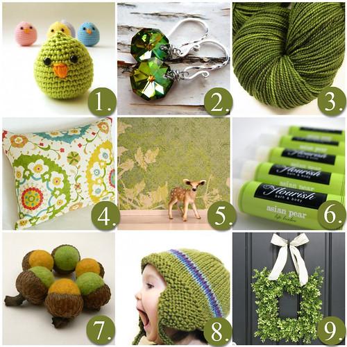Wednesday Inspiration- Spring Green