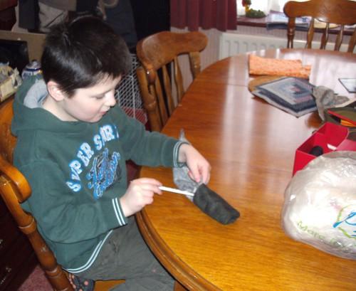 Littleman makes another snake