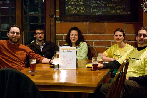 the Beer Challenge Team
