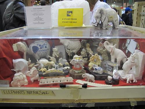 White elephants!
