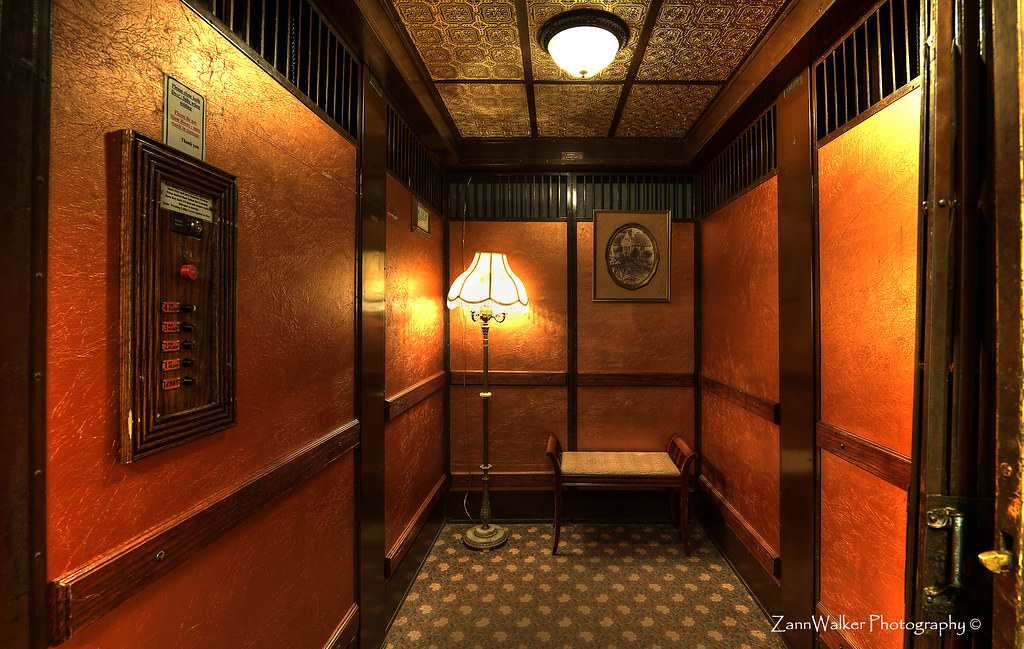 Otis Elevator at Grand Hotel - Jerome AZ