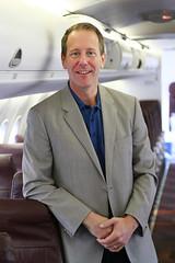 Horizon Air President Glenn Johnson