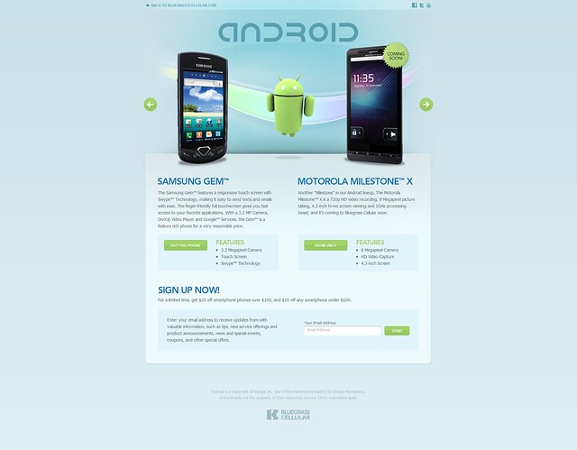 Introducing Android-Powered Smart Phones from Bluegrass Cellular2